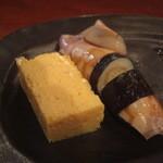 日本橋さとう - 玉子・煮やりイカ