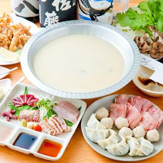 博多風・鶏の水炊き鍋