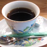 和伊んや - ランチドリンクのホットコーヒー¥100これ美味いです(H24.12.4撮影)