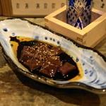 和食 七福神 - 2012.11 馬レバ刺のぶつ切り(1,300円)