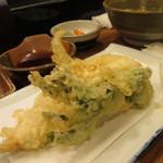16195420 - 穴子の天ぷら