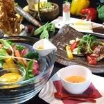 テイストシックス - 看板メニューのお野菜お食事セット☆デザートワゴン付きのセットが大好評です!!