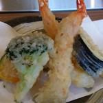 心。 - 美味しい天ぷらでした!