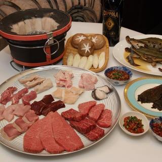 こだわりのお肉を毎日ご予約分のみ仕入れてご用意しております。
