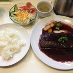 16199216 - おまかせ洋食 ステーキ赤ワインソース