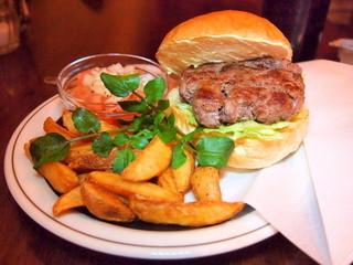 センターフォーハンバーガーズ - 「Hida Beef Burger / 飛騨牛バーガー」(2100円)