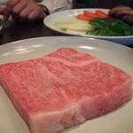 162847 - ステーキ肉 塩胡椒で 最高~