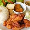 アチャカフェ - 料理写真:acchaプレート から揚げ
