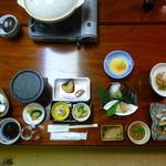 まつもと - 料理写真:夕食