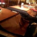 本家 かのや 鹿児島 - テラスのこたつ席