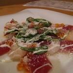 16205980 - マグロと小海老のカルパッチョ サラダ仕立て