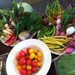 オステリア アルコバレーノ - 岡山契約農家直送の新鮮野菜