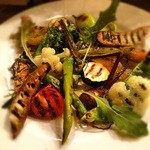 オステリア アルコバレーノ - 新鮮岡山野菜のグリル