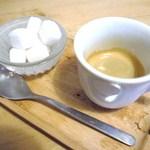 タケル カフェ - エスプレッソにしました♪