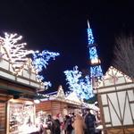 ジャルダン ポタジェ テラニシ - ミュンヘンクリスマス市は、大通公園で開催しています(ミュンヘンクリスマス市入口付近)
