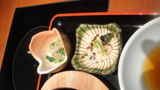 博多華味鳥 銀座4丁目店 - 小鉢