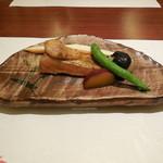 16209531 - 五菜コースののど黒焼き