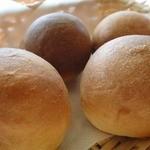 菜園の風 - ランチセットのパン
