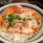 釜家 - 料理写真:かつ丼。
