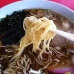 金盛軒 - 麺は細め