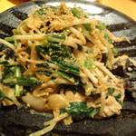 16211595 - 豚ニラ玉子炒め