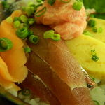 魚八 - ミニ海鮮丼 アップ
