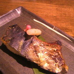 寿司厨房 六山 - 鰆のカマの西京焼き