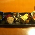 16216680 - ランチの豪華な前菜