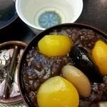 銀座 鹿乃子 本店  - 栗ぜんざい(つぶし餡)