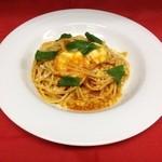 ブレス キュイジーヌ - モッツァレラとバジルのトマトスパゲッティ