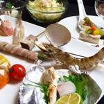 彩華 - 【旬菜コース】 丁寧に仕込んだ前菜から、串を打っても跳ねるほど新鮮な車海老をはじめとした季節の串カツをお楽しみ頂けます