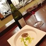 16219947 - 口取とワイン