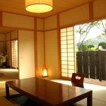 大進館 - オープンピカピカ、10畳×2間の広々露天風呂付客室☆お泊りでもおくつろぎ頂けます。