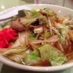 分福 - 野菜炒めラーメン 小盛 (¥780)