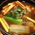 16221494 - カレー南蛮蕎麦!780円