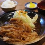 もり達 - 生姜焼き定食