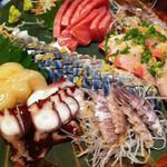 大のや - 料理写真:刺身の盛合せ