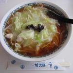甘太郎 - 料理写真:太郎麺醤油味600円
