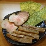 らぁめん醤和 - らぁめん醤和の基本トッピング1(ラーメン代に込み)