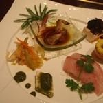 ドラゴンバンブー - 前菜6種盛り