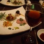 ドラゴンバンブー - 紹興酒はワイングラスで