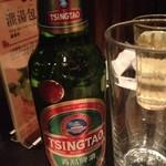 南翔饅頭店 - 青島ビール