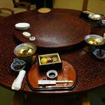 日本料理てら岡 - 今回は3名で伺いました