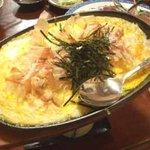 炉ばた大和 - 長芋とろろの鉄板焼き:600円