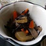 ちくりん - ひじき・大根・こんにゃく・人参の煮物