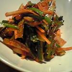 韓国郷土料理 ととり - イカの刺身