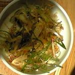 韓国郷土料理 ととり - 葱の和え物