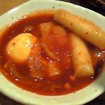 韓国郷土料理 ととり - トッポッギ