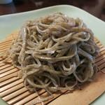 手打ち蕎麦 かね井 - 荒挽きそば (2012/11)