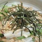 味工房すず - 2010.9納豆と水菜と大根のサラダ